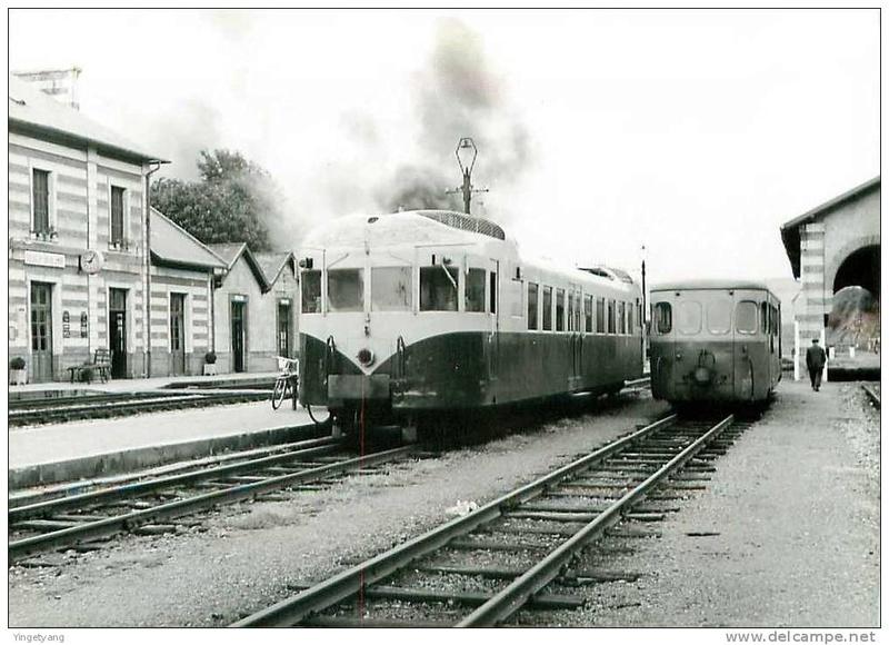 Réseau Breton - il y a 50 ans la fin de la ligne Camaret - Chateaulin Emb Chatea10