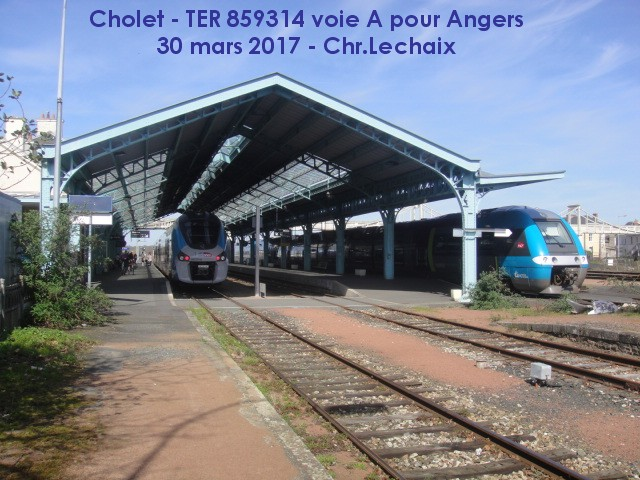 en Régiolis de Angers St Laud à Cholet - 30 mars 2017 Cholet10