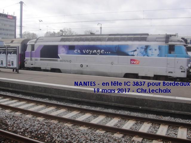 Nantes - intercités pour Bordeaux Nantes11