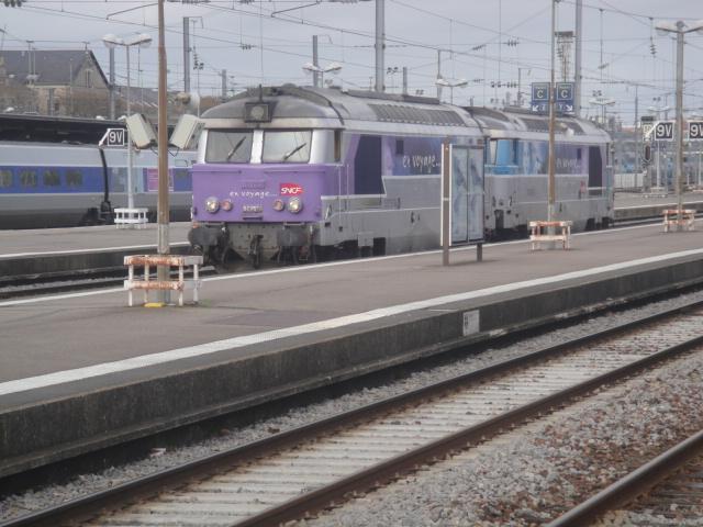 Nantes - intercités pour Bordeaux Quimpe26