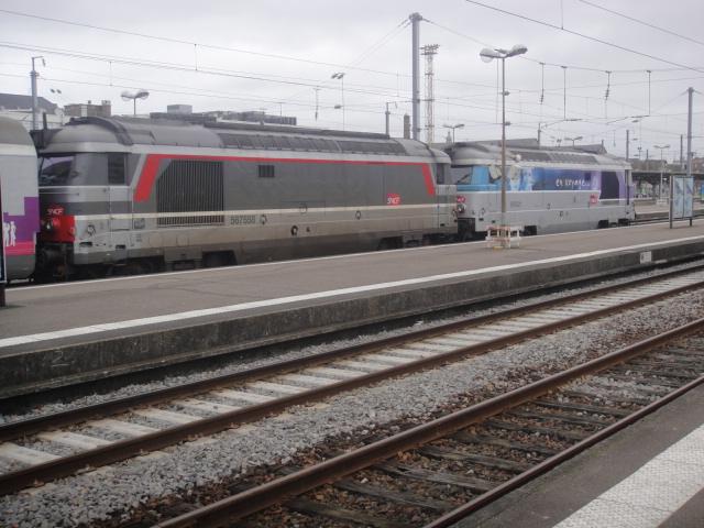 Nantes - intercités pour Bordeaux Quimpe27