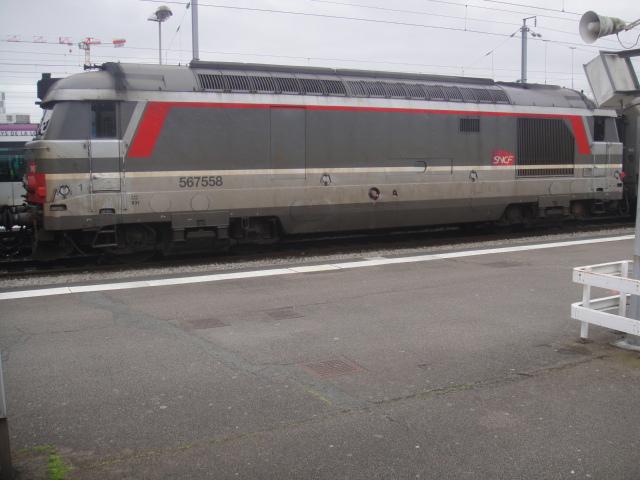 Nantes - intercités pour Bordeaux Quimpe28