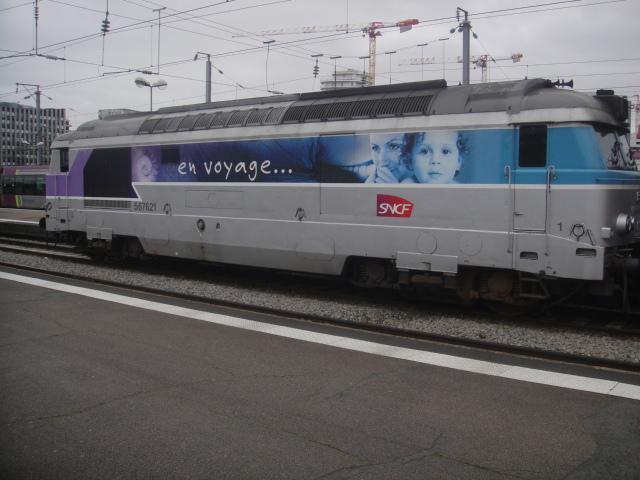 Nantes - intercités pour Bordeaux Quimpe29