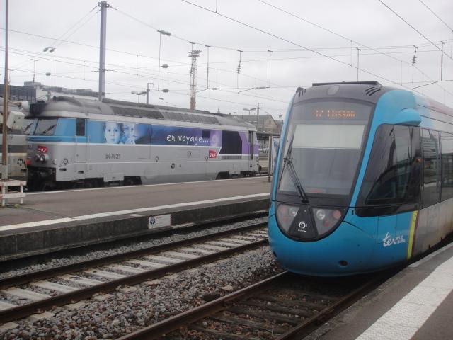 Nantes - intercités pour Bordeaux Quimpe31