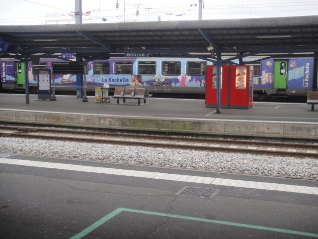 Nantes - intercités pour Bordeaux Quimpe32