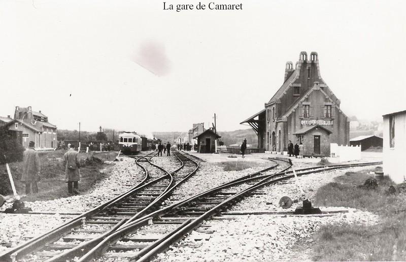 Réseau Breton - il y a 50 ans la fin de la ligne Camaret - Chateaulin Emb Rb_cam11