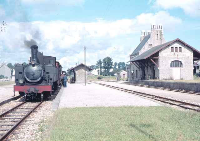 Réseau Breton - il y a 50 ans la fin de la ligne Camaret - Chateaulin Emb Rb_cro10