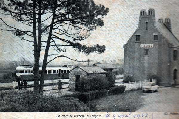 Réseau Breton - il y a 50 ans la fin de la ligne Camaret - Chateaulin Emb Rb_tel10