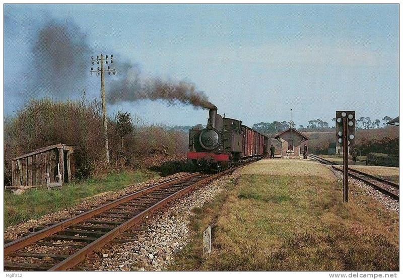 Réseau Breton - il y a 50 ans la fin de la ligne Camaret - Chateaulin Emb Telgru10