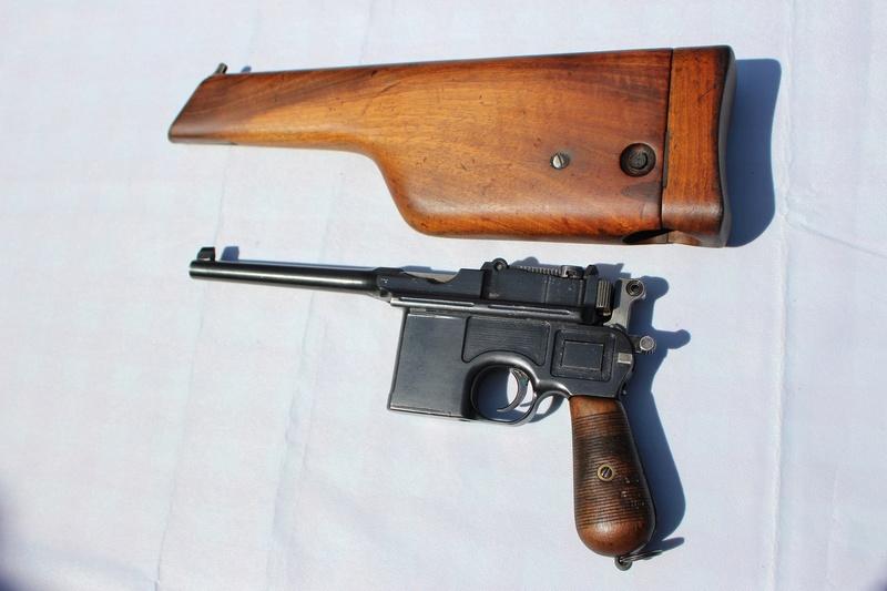 Problème d'éjection avec un Mauser C96 Mauser12