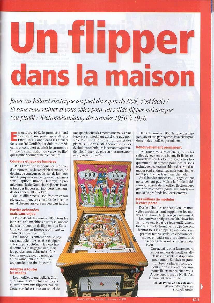 Magazine Antiquites Brocante Janvier 1998 37-12110