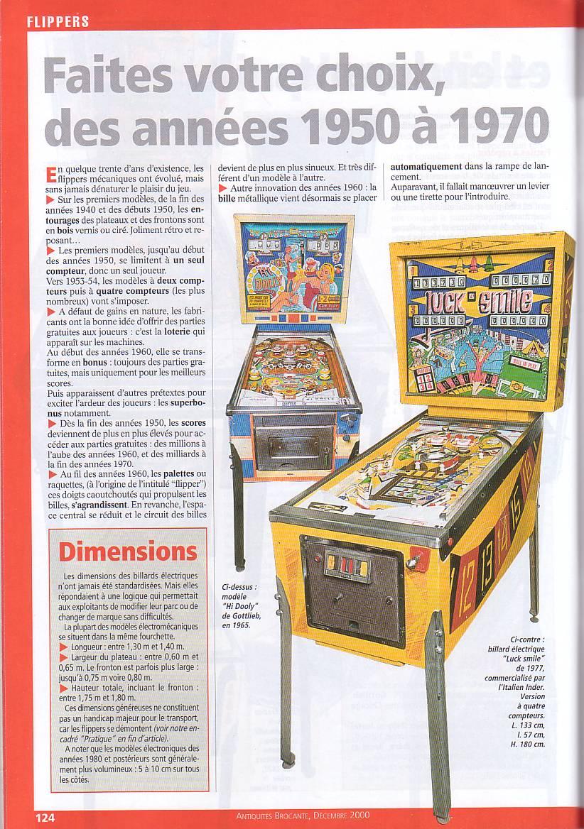 Magazine Antiquites Brocante Janvier 1998 37-12410