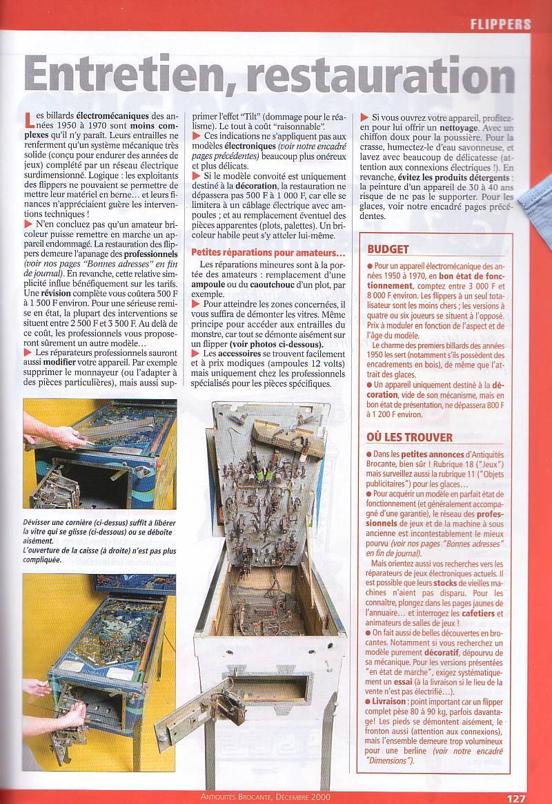 Magazine Antiquites Brocante Janvier 1998 37-12710