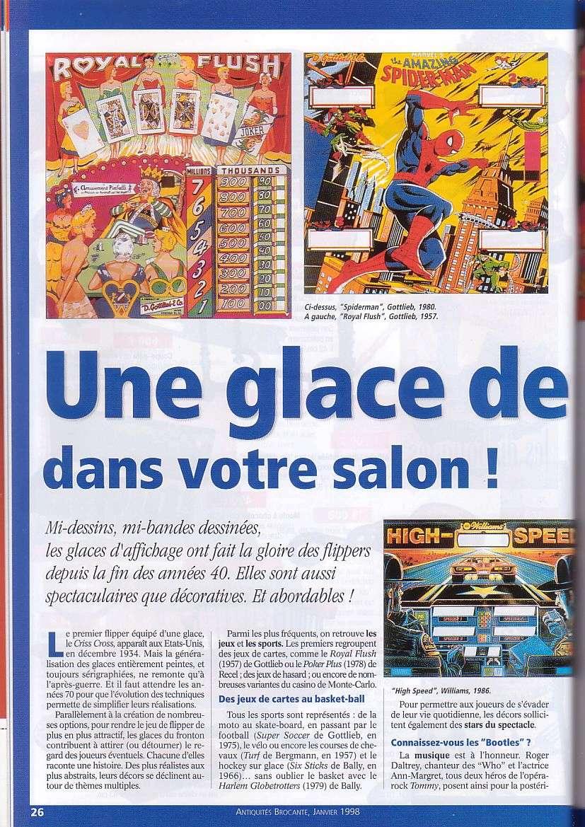 Magazine Antiquites Brocante Janvier 1998 5-2610