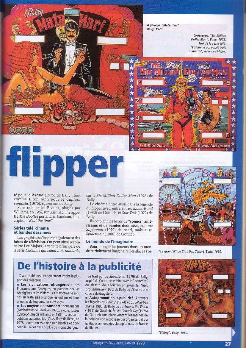 Magazine Antiquites Brocante Janvier 1998 5-2710