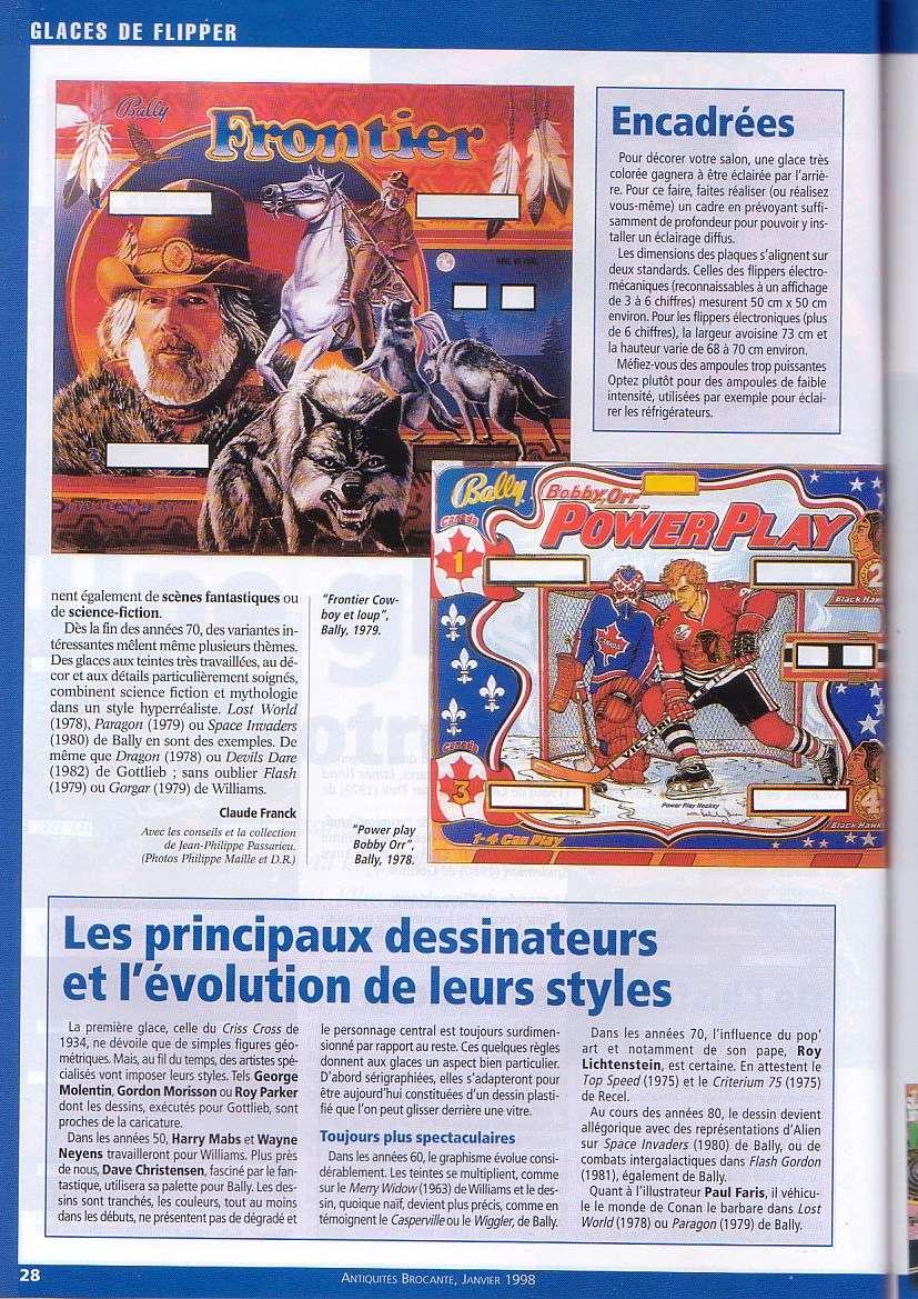 Magazine Antiquites Brocante Janvier 1998 5-2810