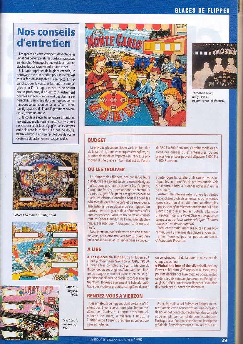 Magazine Antiquites Brocante Janvier 1998 5-2910