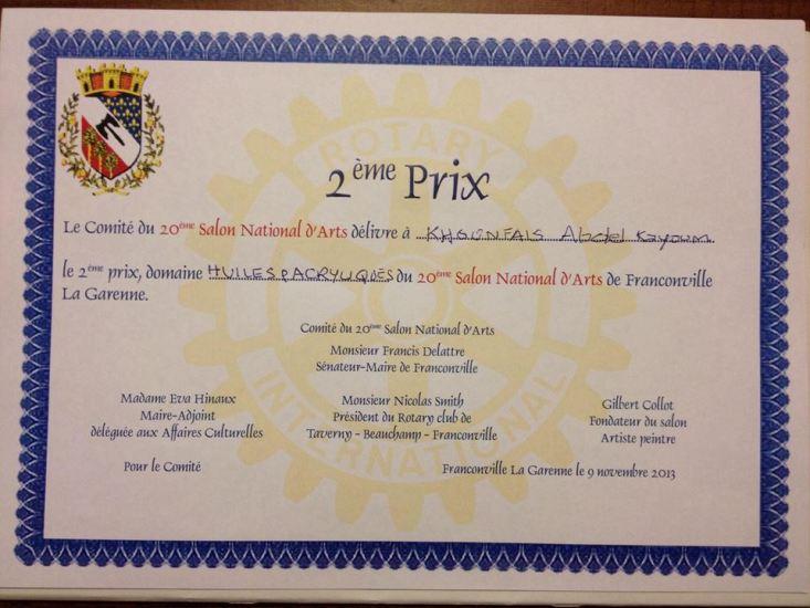 Abdelkyoum Khounfais décroche un autre prix A_khou11