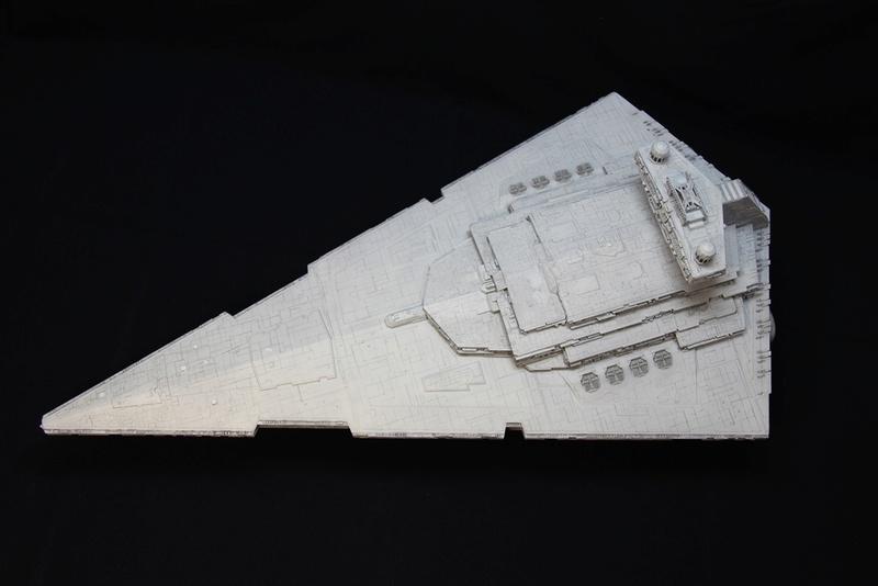 Imperial Star Destroyer 1/2700 Revell (Zvezda) Starde10
