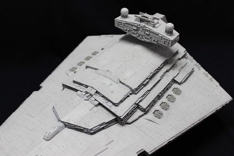 Imperial Star Destroyer 1/2700 Revell (Zvezda) Starde15