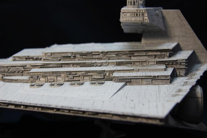 Imperial Star Destroyer 1/2700 Revell (Zvezda) Starde19