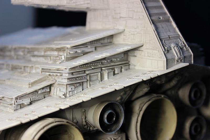 Imperial Star Destroyer 1/2700 Revell (Zvezda) Starde23