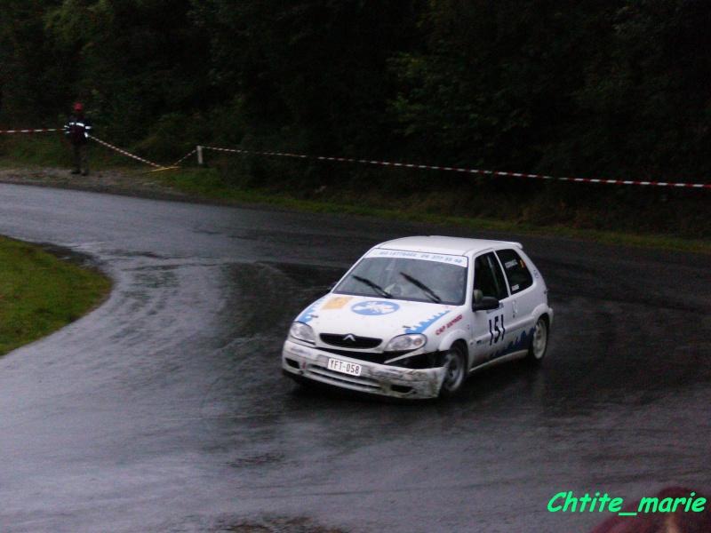 [RETOUR RALLYE DE LA FAMENNE 2008]  photos, vidéos Rallye16