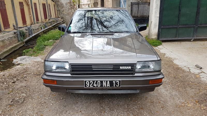 Nissan Bluebird 1600SLX   T12 de 1987 20170363
