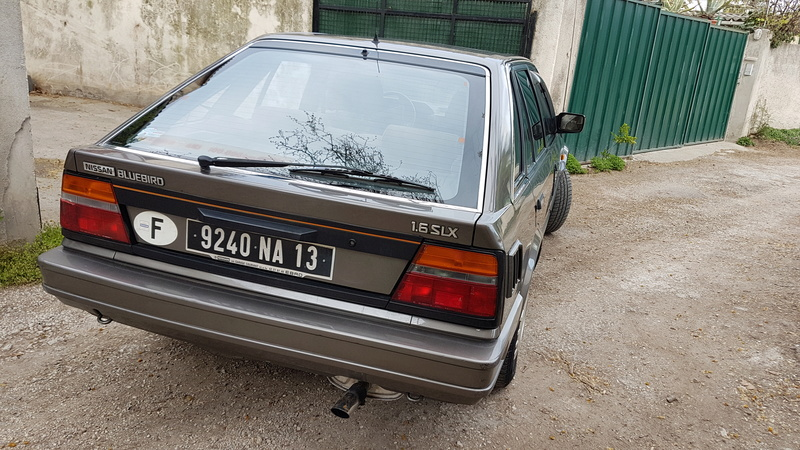 Nissan Bluebird 1600SLX   T12 de 1987 20170364