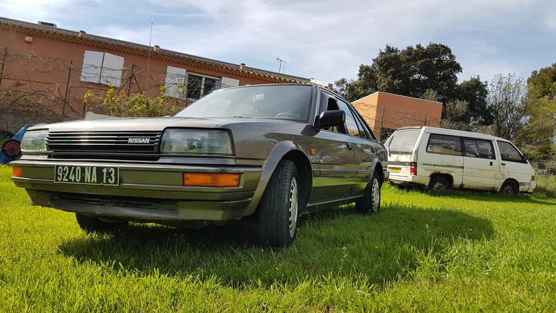 Nissan Bluebird 1600SLX   T12 de 1987 20170365