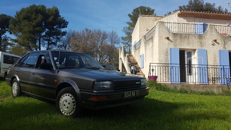 Nissan Bluebird 1600SLX   T12 de 1987 20170366