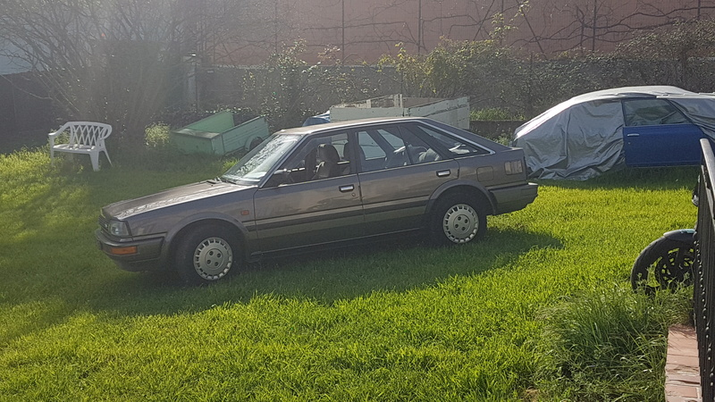 Nissan Bluebird 1600SLX   T12 de 1987 20170368