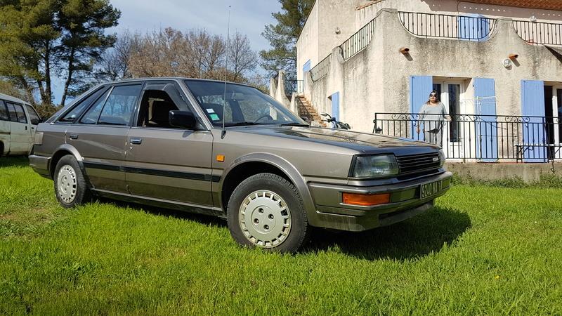Nissan Bluebird 1600SLX   T12 de 1987 20170375
