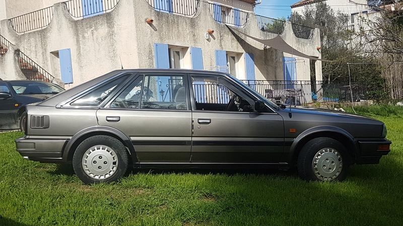 Nissan Bluebird 1600SLX   T12 de 1987 20170377