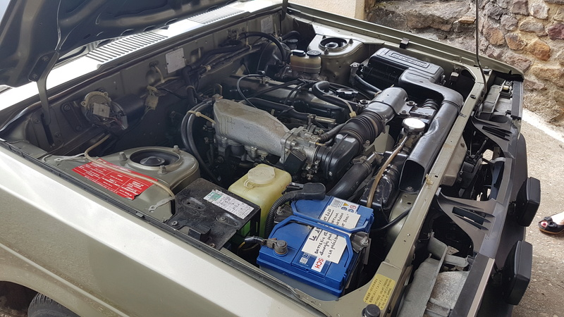 Datsun Bluebird 2.0l injection de  1983  20170433