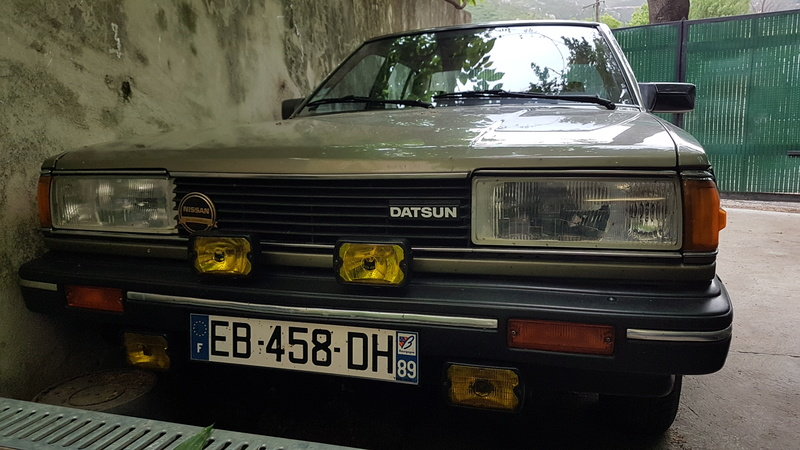 Datsun Bluebird 2.0l injection de  1983  20170515