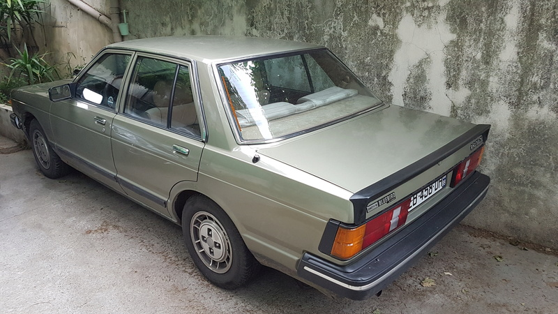 Datsun Bluebird 2.0l injection de  1983  20170521