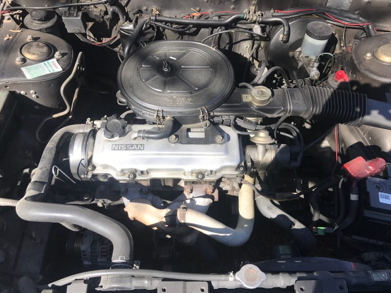 Nissan Bluebird 1600SLX   T12 de 1987 51126423