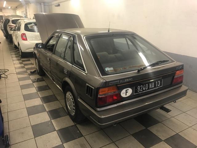 Nissan Bluebird 1600SLX   T12 de 1987 51136412