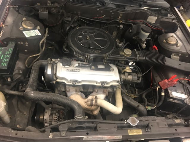 Nissan Bluebird 1600SLX   T12 de 1987 51136413
