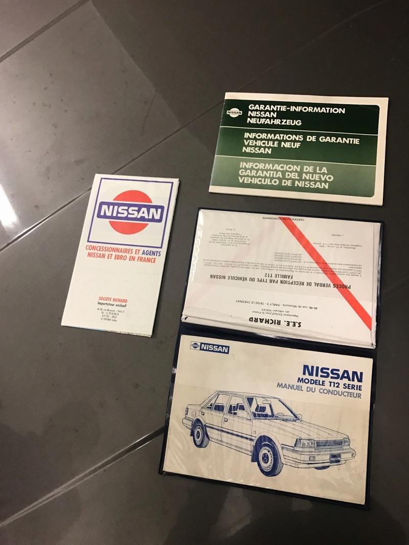 Nissan Bluebird 1600SLX   T12 de 1987 51143510