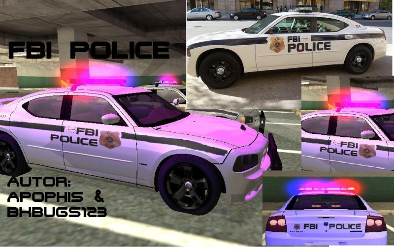 FBI Dodge Charger Police Screen12