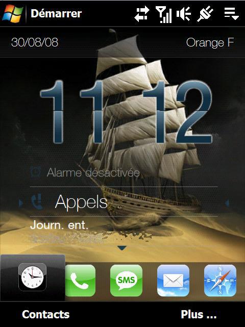 Fond d'écran pour page d'accueil Fondba10