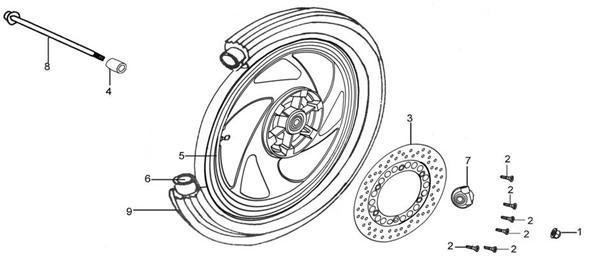 Ruleman de ruedas de Patagonia 250 Conjun10