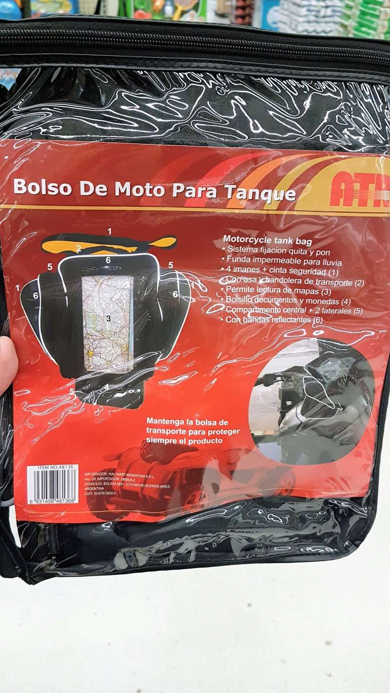 Bolso magnetico de tanque  Img-2017