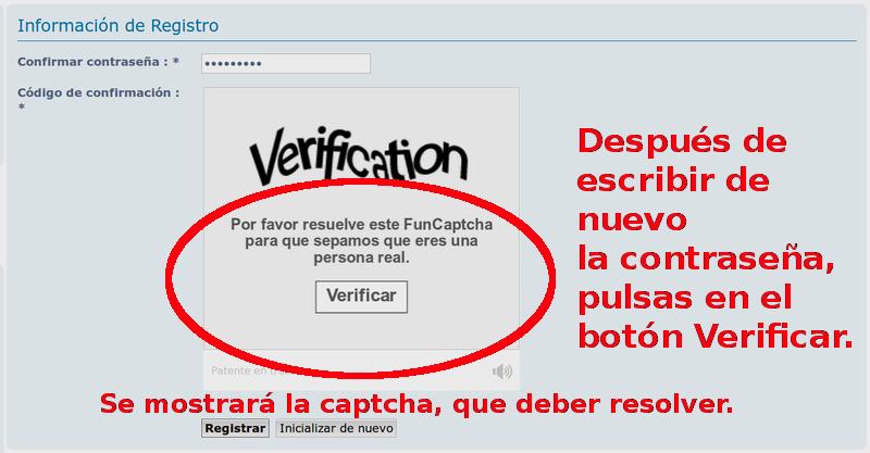 Instrucciones para el Registro en el FORO. Sin_no22