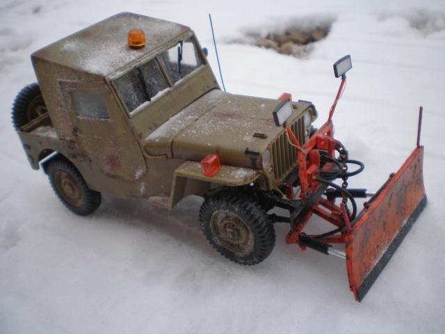 jeep willys snow plow Pb211517