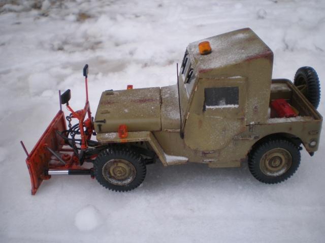 jeep willys snow plow Pb211518