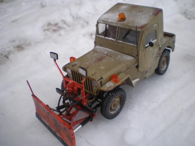 jeep willys snow plow Pb211519