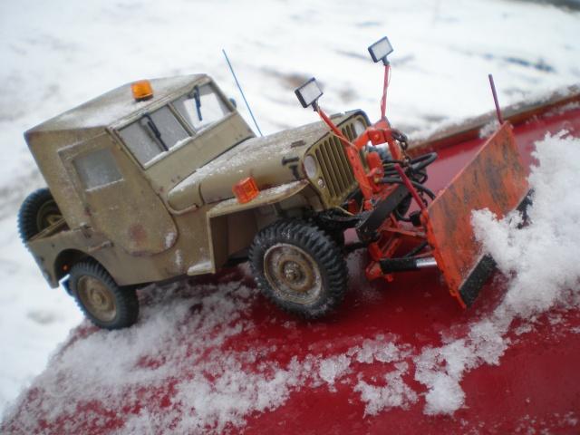 jeep willys snow plow Pb211520